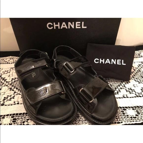 60b900b6eda04e CHANEL Shoes - Chanel platform sandals